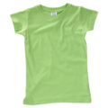 Rabbit Skins 3316 Toddler 4.5 oz. Girls' Fine Jersey Longer Length T-Shirt
