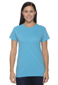Authentic Pigment 1977 Women's 5.6 oz. Pigment-Dyed & Direct-Dyed Ringspun Cotton T-Shirt