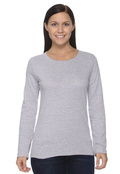 LAT 3588 Sportwear Women's Ringspun Long-Sleeve T-Shirt