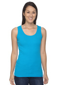 Anvil 2415 Ladies' Junior 2x1 Rib Tank Top