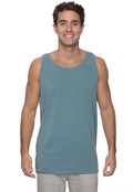 Authentic Pigment 1976 Men's 5.6 oz. Pigment-Dyed Cotton Tank