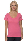 Anvil 391A Women's 3.2 oz. Sheer Scoop Neck T-Shirt