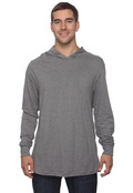 Canvas 3512 Adult 4.2 oz. Driftwood Long-Sleeve Jersey Hoodie