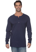 Canvas 3150 Men's 4.2 oz. Long-Sleeve Henley