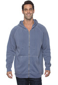 Comfort Colors C1563 Adult Pigment-Dyed Full-Zip Hoodie