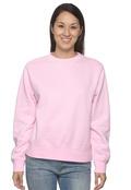 Comfort Colors C1596 Womens 10oz Garment-Dyed Wide-Band Fleece Crew