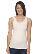 Bella B4020 Women's Organic Cotton 2x1 Rib Tank