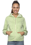 Comfort Colors C1598 Women's Garment-Dyed Full-Zip Hoodie