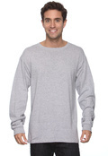 Anvil 749 Men's Long-Sleeve T-Shirt With Tear-Away Label