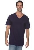 Anvil 982 Men's Soft Spun Fashion Fit V-Neck T-Shirt