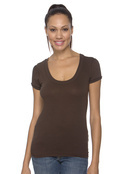 Bella 8406 Women's 3.8 oz. Myla Vintage Scoop Neck