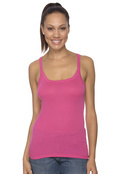 Bella 8711 Women's Catrina Sheer Rib Tank