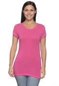 Alo W1004 Women's Short-Sleeve Bamboo T-Shirt