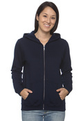 Gildan G186FL Women's 7.75 oz. Heavy Blend 50/50 Full-Zip Hood