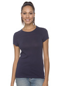 Bella+Canvas B6010 Women's Danielle Jersey Yoke T-Shirt