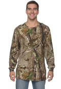 Code V 3981 Men's Officially Licensed Realtree Camouflage Long-Sleeve T-Shirt