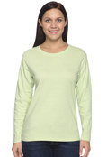 Comfort Colors C3014 Women's 5.4 oz. Ringspun Garment-Dyed Long-Sleeve T-Shirt
