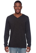 Bella 3425 Men's Triblend Long-Sleeve V-Neck T-Shirt