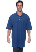 Devon & Jones D100T Tall Pima Pique Short-Sleeve Polo