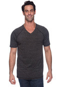 Alo M1105 Men's Performance Triblend Short-Sleeve V-Neck T-Shirt