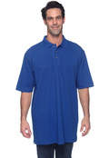 Harriton M200T Tall 6 oz. Ringspun Cotton Pique Short-Sleeve Polo