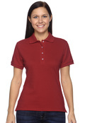 Jerzees 440W Women's Cotton Pique Polo Shirt