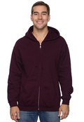 Gildan G186 Adult 7.75 oz. Heavy Blend 50/50 Full-Zip Hood