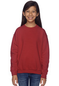 Gildan G180B Youth 50/50 Fleece Crewneck Sweatshirt