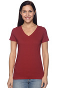 Fruit of the Loom L39VR Ladies' 5 oz. 100% Heavy Cotton HD V-Neck T-Shirt