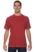 Champion T2057 Tagless Men's 100% Poly Double Dry T-Shirt