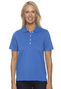 Ashworth 1147C Women's High Twist Cotton Tech Polo