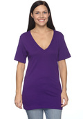 Bella+Canvas 3105 Adult 4.2 oz.Jersey  Deep V-Neck