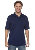 Izod 13Z0075 Men's Performance Golf Pique Tagless Polo