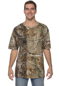 Code V 3980 Men's Officially Licensed Realtree Camouflage Short-Sleeve T-Shirt