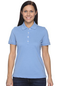 Ashworth 1146C Women's Combed Cotton Pique Polo