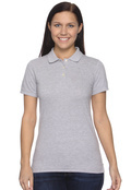 Anvil 8680A Women's Ringspun Cotton Pique Sport Shirt