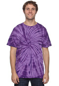 Tie-Dye CD100 Adult Tie-Dyed 5.4 oz. 100% Cotton  T-Shirt