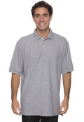 Chestnut Hill CH100P Men's Performance Plus Pique Polo with Pocket