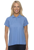 Chestnut Hill CH365W Women's Technical Performance Polo -100% Polyester