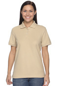 Devon & Jones D112W Women's Pima Pique Short-Sleeve Polo