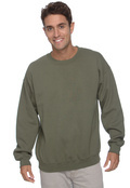 Gildan G180 Adult 50/50 7.75oz Fleece Crewneck Sweatshirt
