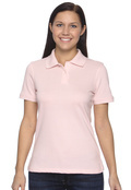 Harriton M100W Women's Ringspun Cotton Pique Polo