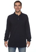 Harriton M265L Adult Easy Blend Long-Sleeve Polo